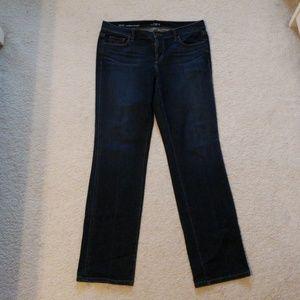 Loft straight jeans